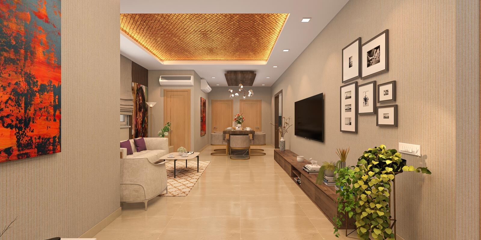 Family Lounge & Dining Area