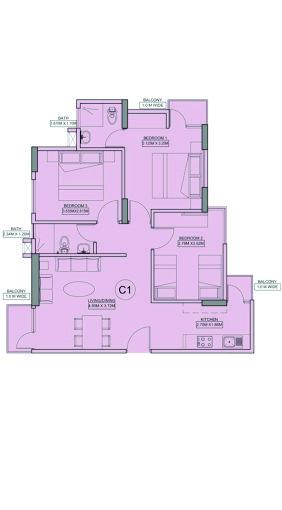 Dream homes 3BHK