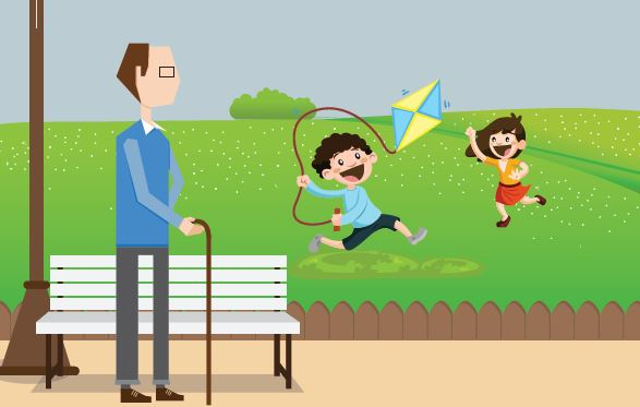 पार्क्स, हरियाली और सुरक्षा- दीजिये अपने परिवार को सुनहरा जीवन |