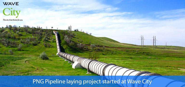 PNG Pipeline Project Flagged Off at Wave City-NH 24