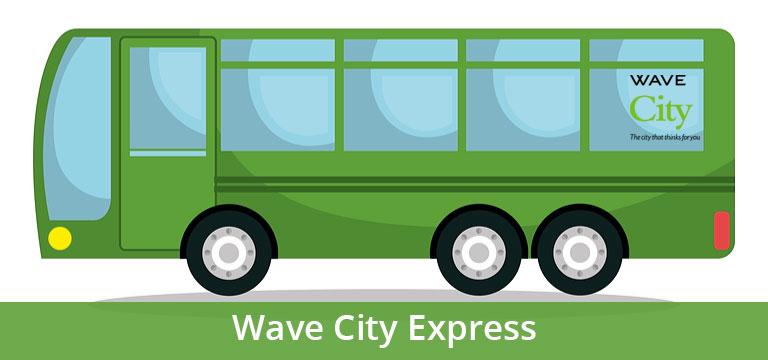 Wave City में शुरू हुई Wave City Express बस सर्विस