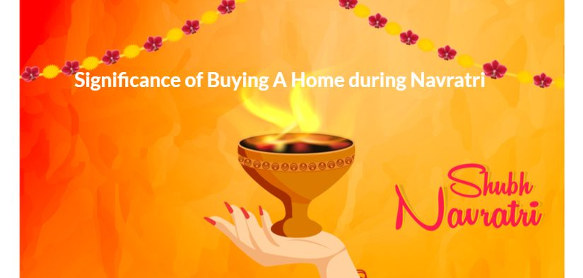 Navratri - auspicious day for property registration