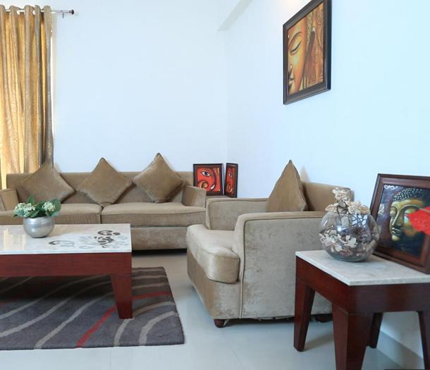 Wave City Dream Homes Living Room