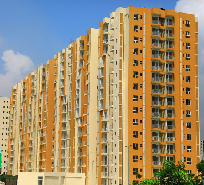 1 BHK, 2 BHK & 3 BHK residential apartments in Ghaziabad